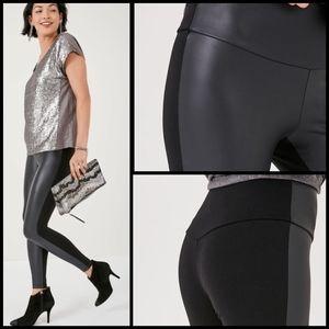 🆕 Stella & Dot vegan leather leggings size XL